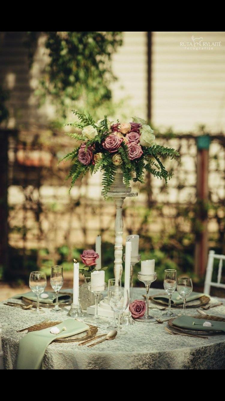 vestuvių dekoracijos